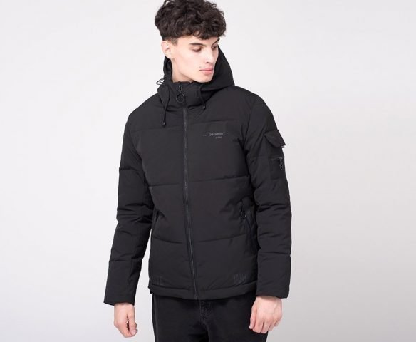 Куртка зимняя OFF-WHITE black