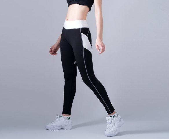 Леггинсы Nike черно-белые