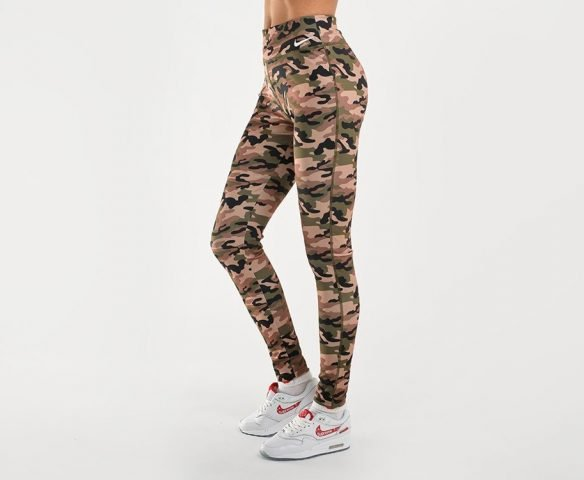 Леггинсы Nike камуфляж