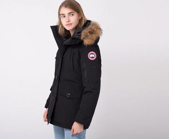 Парка зимняя Canada Goose черная