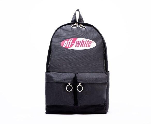 Рюкзак OFF-WHITE черный (black)