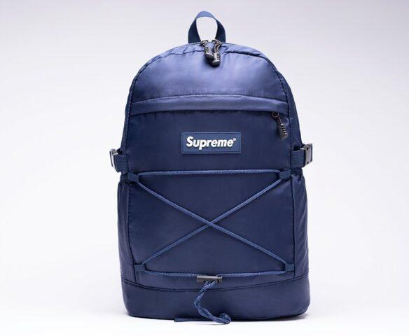 Темно-синий рюкзак Supreme