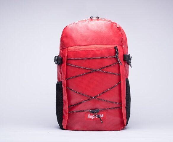 Красный рюкзак Supreme