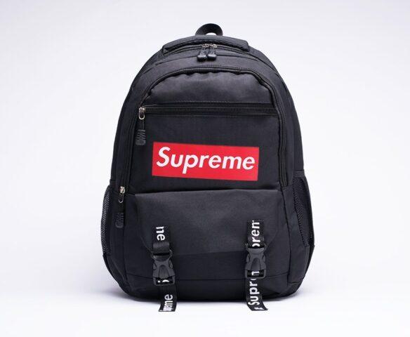 Рюкзак Supreme черно-красный