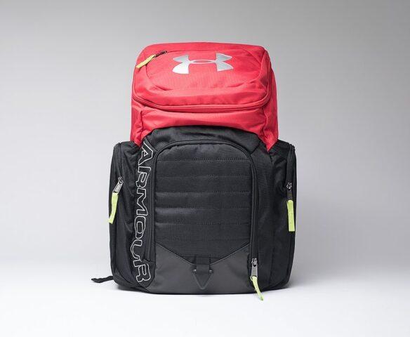 Рюкзак Under Armour черно-красный