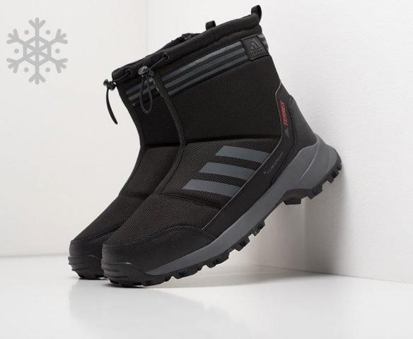 Сапоги Adidas black-grey