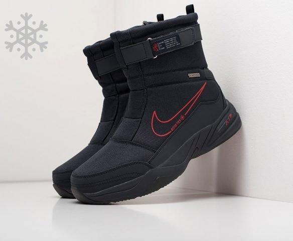 Сапоги Nike черные с красным
