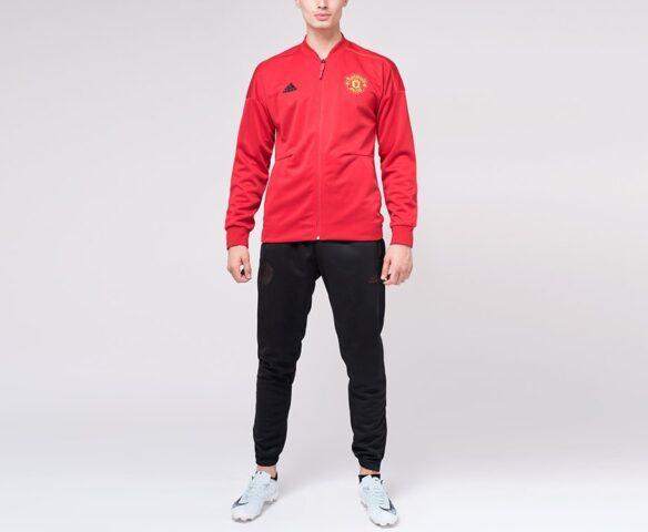 Спортивный костюм Adidas FC Manchester United красный