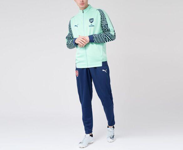 Спортивный костюм Puma FC Arsenal зеленый