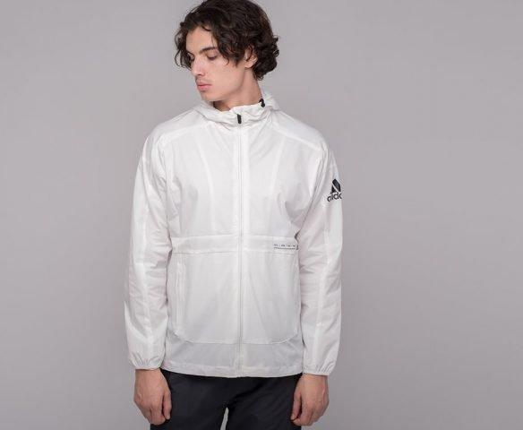 Ветровка Adidas белая
