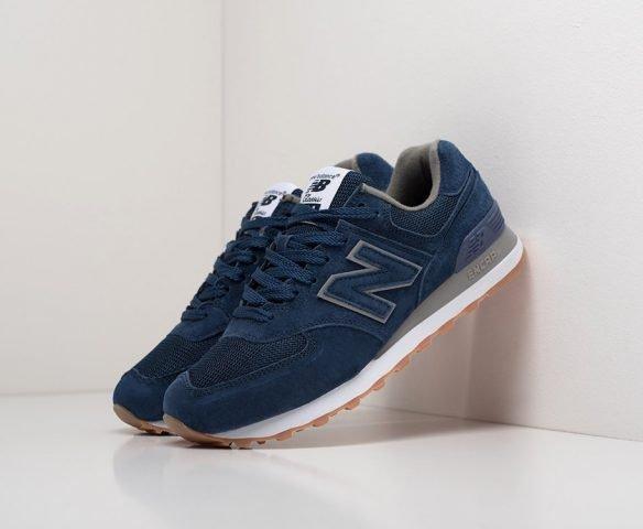 New Balance 574 dark blue wmn