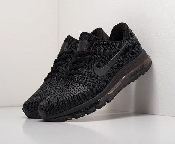 Nike Air Max 2017 черные (black)