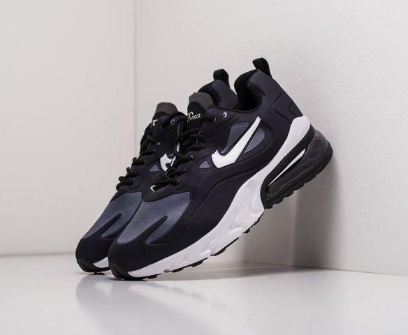 Nike Air Max 270 React wmn черные с белым