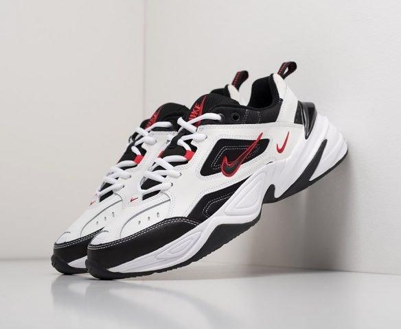 Nike M2K TEKNO leather белые