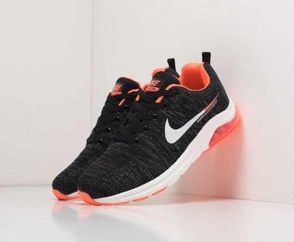 Nike Zoom черные с оранжевым