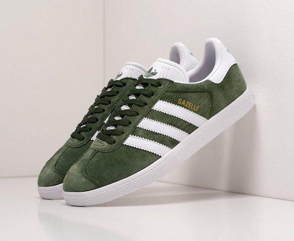 Adidas Gazelle OG зеленые
