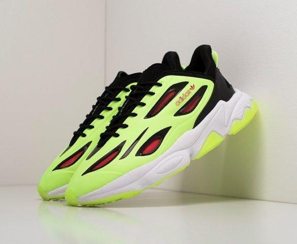 Adidas Ozweego Celox зеленые