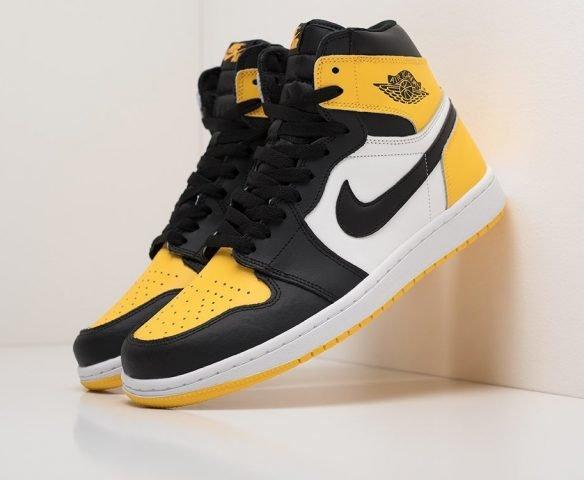 Nike Air Jordan 1 желтые