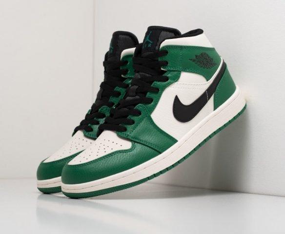Nike Air Jordan 1 green (зеленые)