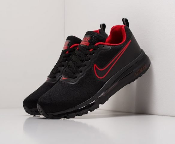 Nike Air Max 2017 черные беговые
