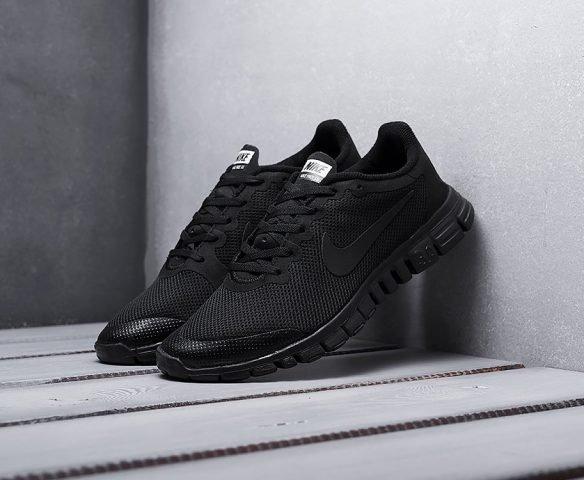 Nike Free 3.0 V2 black (черные)