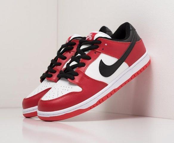 Nike SB Dunk Low red-white