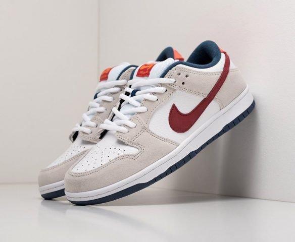 Nike SB Dunk Low grey-white