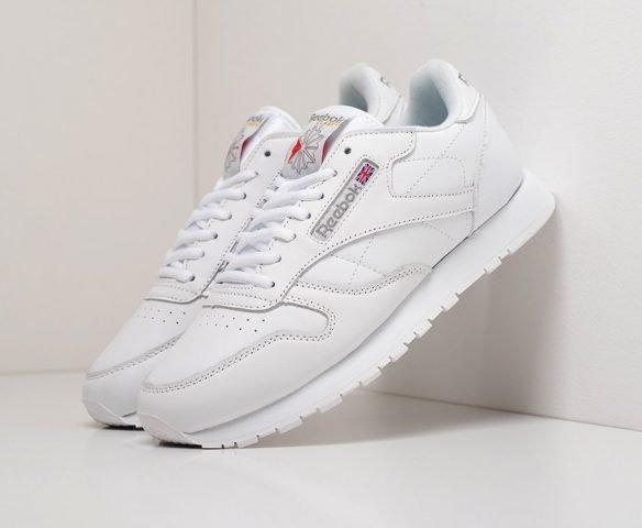 Reebok Classic Leather white (белые)
