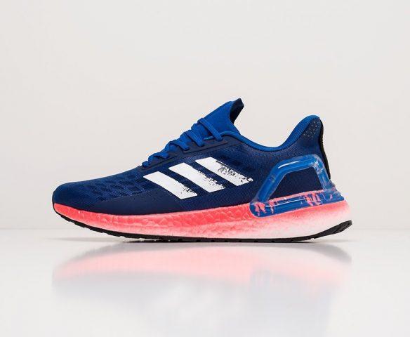 Adidas Ultra Boost 20 синие. Вид 6
