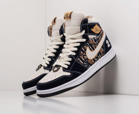 Dior x Nike Air Jordan 1 Low black