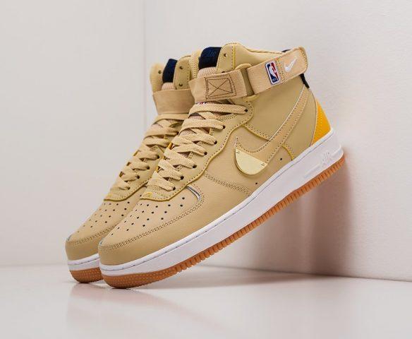 Nike Air Force 1 желтые