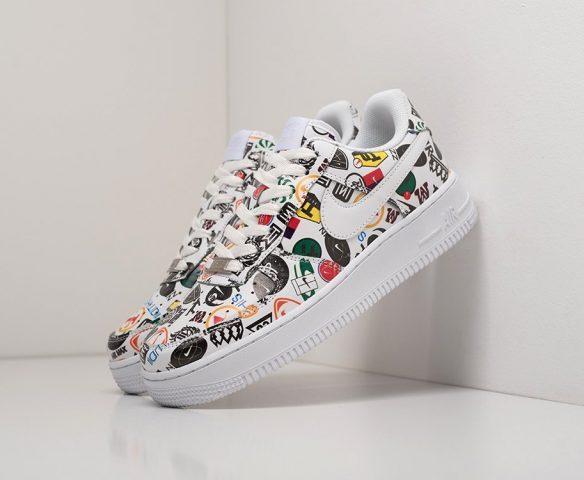Nike Air Force 1 Low lthr разноцветные
