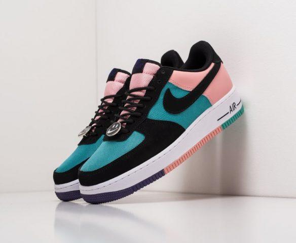 Nike Air Force 1 Low кожаные multicolor