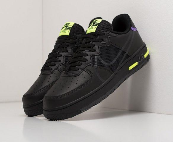 Nike Air Force 1 Low React black