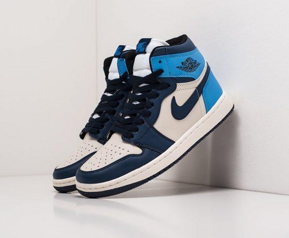 Nike Air Jordan 1 lthr wmn white