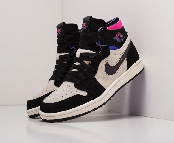 Nike Air Jordan 1 Zoom Air CMFT black-brown