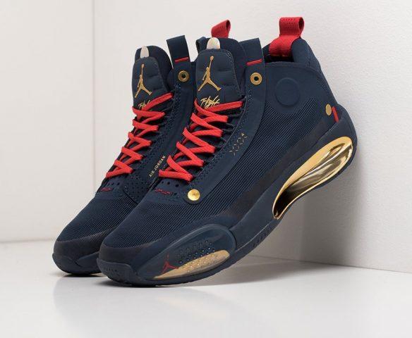 Nike Air Jordan XXXIV dark blue