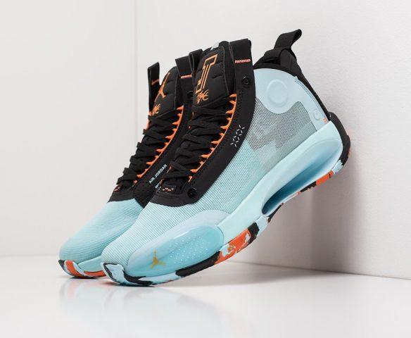Nike Air Jordan XXXIV blue