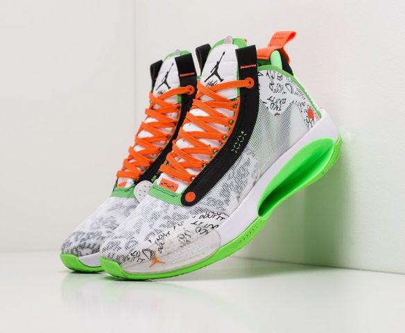 Nike Air Jordan XXXIV white-orange