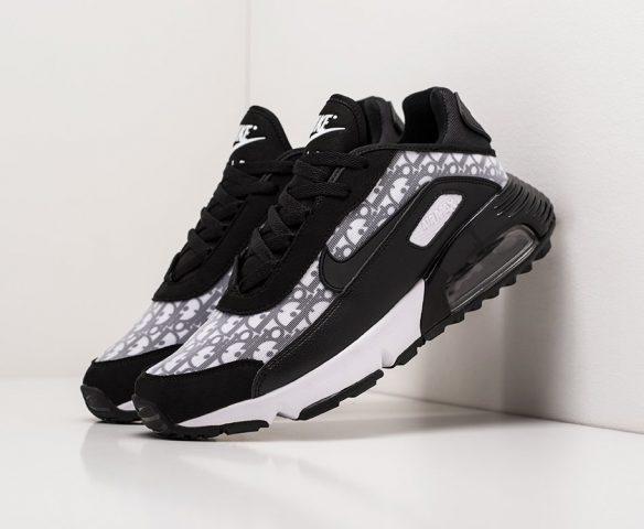 Nike Air Max 2090 low черно-белые