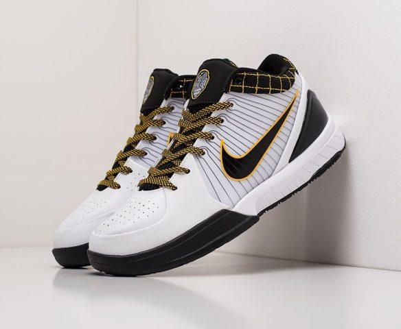 Nike Kobe 4 Protro белые