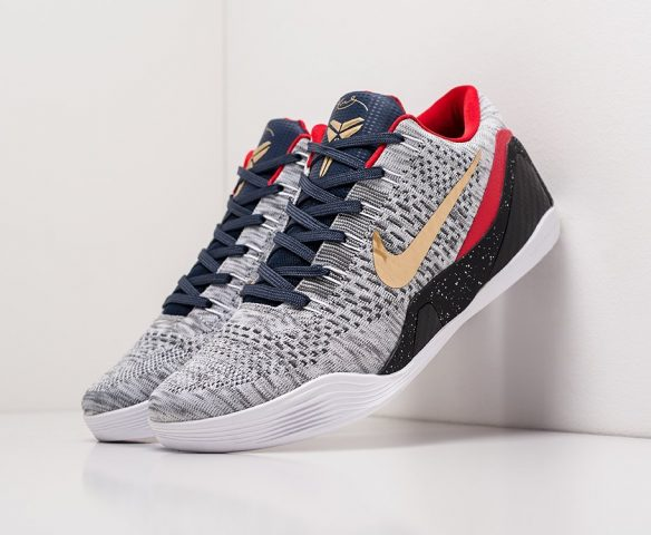 Nike Kobe 9 Low серые
