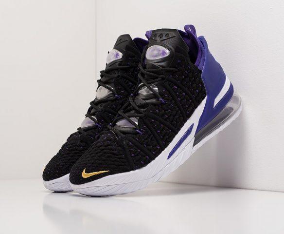Nike Lebron XVIII black