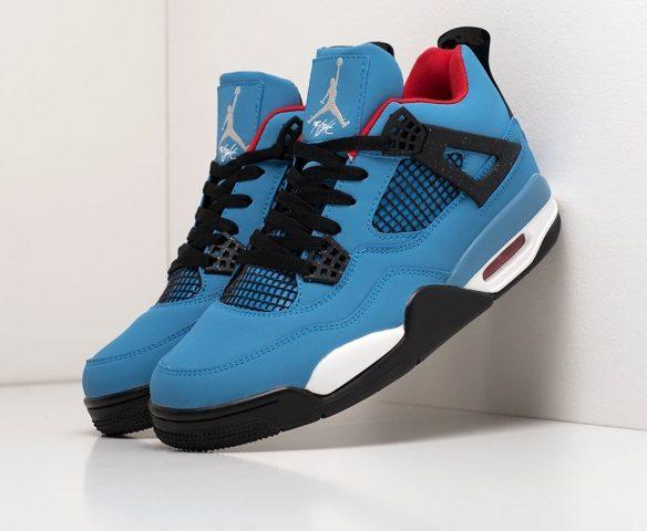 Nike x Travis Scott Air Jordan 4 blue