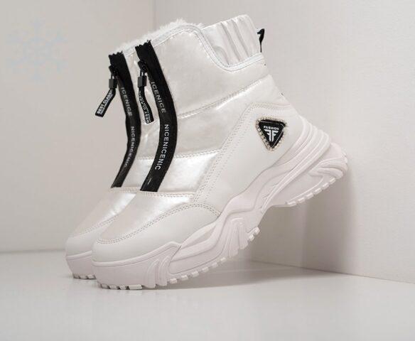 Ботинки Fashion белые