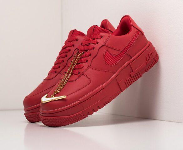 Nike Air Force 1 Pixel Low красные