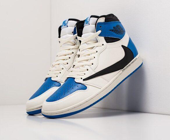Nike Air Jordan 1 x Travis Scott white