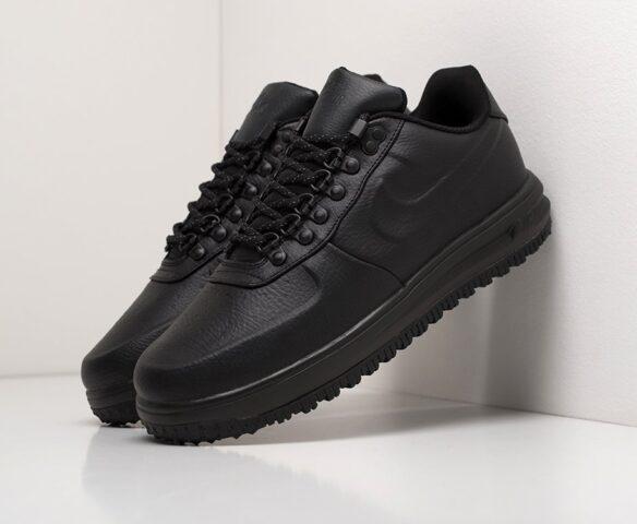 Nike Lunar Force 1 Duckboot Low черные