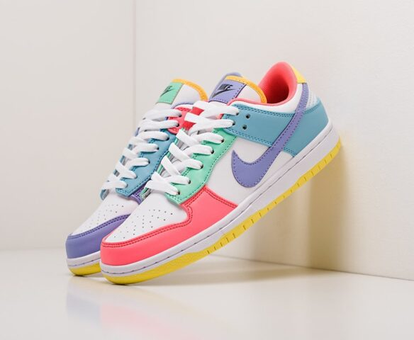Nike SB Dunk Low разноцветные wmn